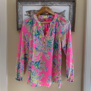 """NWT Lilly Pulitzer """"Elsa"""" Top, Squeeze the Day"""